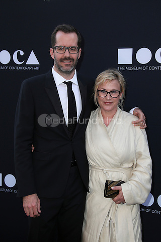 LOS ANGELES, CA - MAY 14: Patricia Arquette, Eric White arrives at the MOCA Gala 2016 at The Geffen Contemporary at MOCA on May 14, 2016 in Los Angeles, California. Credit: Parisa/MediaPunch.