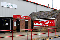 General view of the outside of Stevenage FC during Stevenage vs Norwich City, Friendly Match Football at the Lamex Stadium on 11th July 2017
