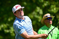 Keegan Bradley (USA) watches his tee shot on 2 during round 2 of the Shell Houston Open, Golf Club of Houston, Houston, Texas, USA. 3/31/2017.<br /> Picture: Golffile | Ken Murray<br /> <br /> <br /> All photo usage must carry mandatory copyright credit (&copy; Golffile | Ken Murray)