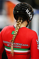 Picture by Charlie Forgham-Bailey/SWpix.com - 03/03/2018 - 2018 UCI Track Cycling World Championships, Apeldoorn,The Netherlands, Day 4 - Women's 500m Time Trail - Jessica Salazar Valles