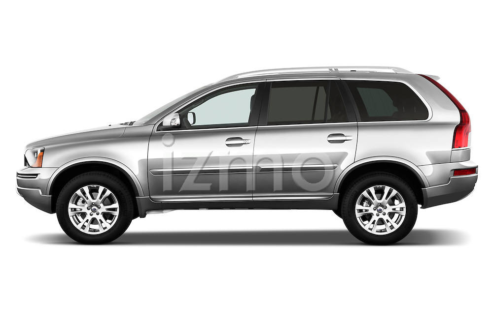 Driver side profile view of a 2012 Volvo XC90.