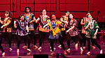 WATERBURY,  CT-052019JS06- Students from Waterbury Arts Magnet School preform the dance &quot;Akwaaba&quot; during the Waterbury Public School's Celebration Community Through the Arts II district-wide talent show held Monday at the Palace Theater in Waterbury. <br /> Jim Shannon Republican American