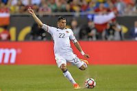 Chicago, IL - Wednesday June 22, 2016: Jeison Murillo during a Copa America Centenario semifinal match between Colombia (COL) and Chile (CHI) at Soldier Field.
