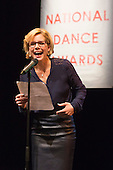 26 January 2015. London, UK. The Critic's Circle National Dance Awards 2014, at The Place, London.