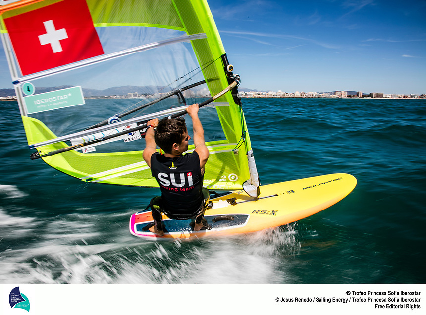 Swiss Sailing Team shooting in Palma, April 2018