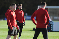 Aaron Ramsey of Wales during the Wales Training Session at The Vale Resort in Cardiff, Wales, UK. Monday 12 November 2018