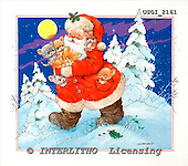 GIORDANO, CHRISTMAS SANTA, SNOWMAN, WEIHNACHTSMÄNNER, SCHNEEMÄNNER, PAPÁ NOEL, MUÑECOS DE NIEVE, paintings+++++,USGI2161,#X#