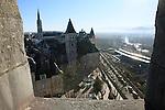 20080110 - France - Aquitaine - Pau<br /> VUES DEPUIS LE CHATEAU DE PAU SUR LA VILLE, LE GAVE ET LES PYRENEES.<br /> Ref : PAU_052.jpg - © Philippe Noisette.