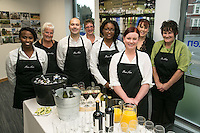 he team from Posh Nosh who did the catering