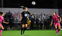 Woluwe's Lies Tambeur (15) pictured during a female soccer game between Sporting Charleroi and FC Femina White Star Woluwe on the second matchday of the 2020 - 2021 season of Belgian Scooore Women s SuperLeague , friday 4 th of September 2020  in Marcinelle , Belgium . PHOTO SPORTPIX.BE | SPP | DAVID CATRY