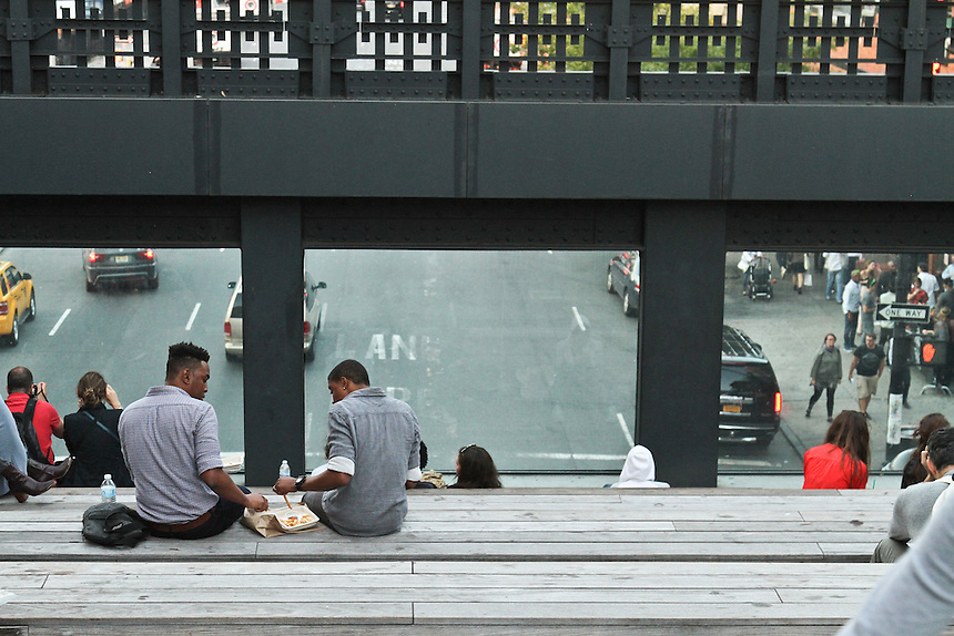 Lunch on the high line