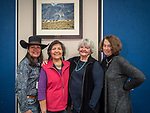 The Saturday symposium & experience at STW XXXI, Winnemucca, Nevada, April 13, 2019.<br /> With Victoria Jackson, Native American Dancers from northern Nevada, Linda and Carolyn Dufurrena—Faces Become Landscape.<br /> .<br /> .<br /> .<br /> .<br /> @shootingthewest, @winnemuccanevada, #ShootingTheWest, @winnemuccaconventioncenter, #WinnemuccaNevada, #STWXXXI, #NevadaPhotographyExperience, #WCVA