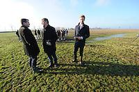 ALGEMEEN: JOURE/VEGELINOORD: 19-01-2015, Muizenplaag Haskerveenpolder, ©foto Martin de Jong