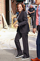 MAY 22 Kamala Harris At The Late Show With Stephen Colbert