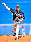 2 March 2010: Atlanta Braves starting pitcher Tommy Hanson in action against the New York Mets during the Opening Day of Grapefruit League play at Tradition Field in Port St. Lucie, Florida. The Mets defeated the Braves 4-2 in Spring Training action. Mandatory Credit: Ed Wolfstein Photo