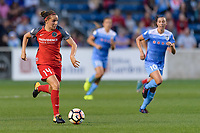 Bridgeview, IL - Saturday August 12, 2017: Ashleigh Sykes during a regular season National Women's Soccer League (NWSL) match between the Chicago Red Stars and the Portland Thorns FC at Toyota Park. Portland won 3-2.