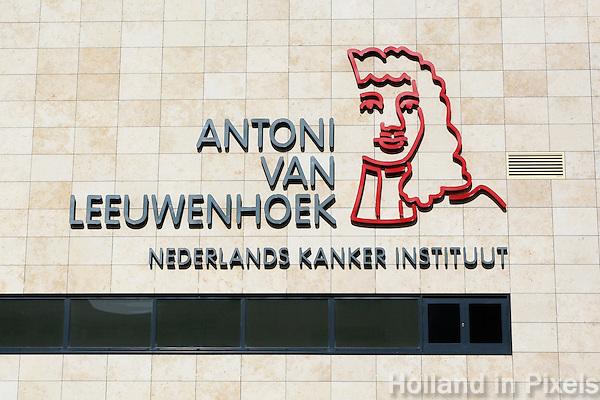 Nederland  Amsterdam  2016. Antoni van Leeuwenhoek Ziekenhuis. Nederlands Kanker Instituut.    Foto Berlinda van Dam / Hollandse Hoogte