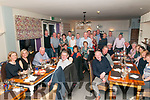 Crotta Cyclists Party : Members of the Crotta Leisure & Social Cycling Club pictured at Maisy's Restaurant, Kilflynn on Saturday night last.