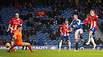 Kenny Miller unlucky not to find the back of the net just after half time