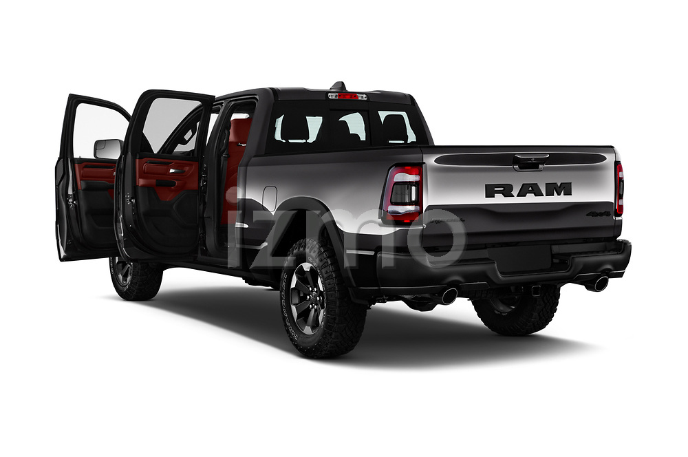 Car images close up view of a 2019 Ram 1500 Rebel 4 Door Pick Up doors
