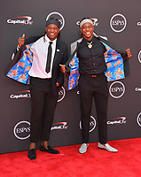 Shaquem Griffin &amp; Shaquill Griffin at the 2018 ESPY Awards at the Microsoft Theatre LA Live, Los Angeles, USA 18 July 2018<br /> Picture: Paul Smith/Featureflash/SilverHub 0208 004 5359 sales@silverhubmedia.com