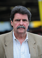 Feb 9, 2008; Daytona, FL, USA; Nascar Sprint Cup Series president Mike Helton during practice for the Daytona 500 at Daytona International Speedway. Mandatory Credit: Mark J. Rebilas-US PRESSWIRE
