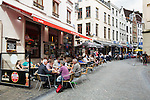 BRUSSELS - BELGIUM - 22 June 2016 -- Brussels city - Restaurants and snack cafes close to the Grand Place. -- PHOTO: Juha ROININEN / EUP-IMAGES Käyttöoikeus: vain ET brändi