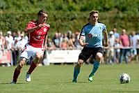 ANNEN - Voetbal, Annen - FC Groningen, voorbereiding seizoen 2017-2018, 09-07-2017, FC Groningen speler Ruben Ettergard Jenssen