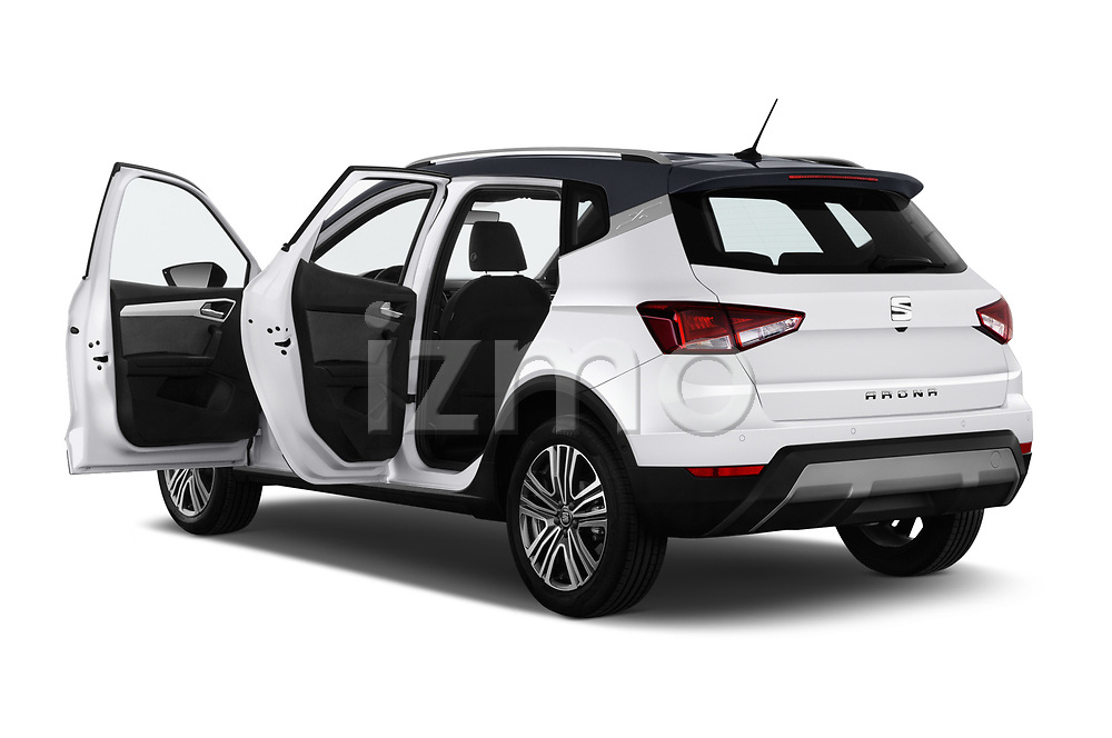 Car images close up view of a 2018 Seat Arona Xcellence 5 Door SUV doors
