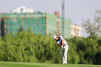 Gaganjeet Bhullar (IND) on the 15th fairway during the 3rd round at the WGC HSBC Champions 2018, Sheshan Golf CLub, Shanghai, China. 27/10/2018.<br /> Picture Fran Caffrey / Golffile.ie<br /> <br /> All photo usage must carry mandatory copyright credit (&copy; Golffile | Fran Caffrey)