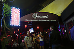 Secret Restaurant and Hooka in the Jane's House complex on Hollywood Blvd in Hollywood, Los Angeles, CA