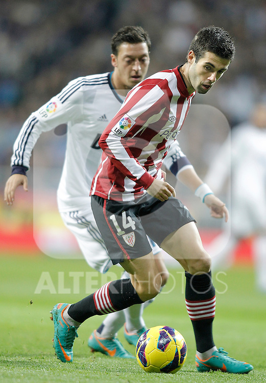 Athletic de Bilbao's Markel Susaeta during La Liga Match. November 17, 2012. (ALTERPHOTOS/Alvaro Hernandez)