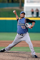 Jhoulys Chacin - Tulsa Drillers.2009 Texas League All-Star game held at Dr. Pepper Ballpark, Frisco, TX - 07/01/2009. The game was won by the North Division, 2-1..Photo by:  Bill Mitchell/Four Seam Images