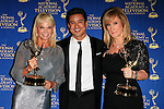 BEVERLY HILLS - JUN 22: Linda Bell Blue, Mario Lopez, Lisa Gregorisch-Dempsey at The 41st Annual Daytime Emmy Awards Press Room at The Beverly Hilton Hotel on June 22, 2014 in Beverly Hills, California