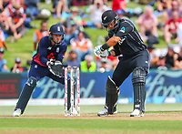 New Zealand's Ross Taylor.  Black Caps v England, second international cricket ODI, Bay Oval, Tauranga, New Zealand. Wednesday, 28 February, 2018. Copyright photo: John Cowpland / www.photosport.nz