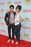 "HOLLYWOOD, CA. - December 05: BooBoo Stewart and Fivel Stewart arrive at Variety's 3rd annual ""Power of Youth"" event held at Paramount Studios on December 5, 2009 in Los Angeles, California."