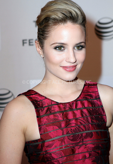 WWW.ACEPIXS.COM<br /> <br /> April 18 2015, New York City<br /> <br /> Actress Dianna Agron arriving at the World Premiere of 'Tumbledown' during the 2015 Tribeca Film Festival at BMCC Tribeca PAC on April 18, 2015 in New York City.<br /> <br /> By Line: Nancy Rivera/ACE Pictures<br /> <br /> <br /> ACE Pictures, Inc.<br /> tel: 646 769 0430<br /> Email: info@acepixs.com<br /> www.acepixs.com