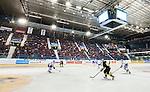 Stockholm 2015-09-30 Ishockey Hockeyallsvenskan AIK - Leksands IF :  <br /> Vy &ouml;ver Hovet med publik p&aring; l&auml;ktarna under matchen mellan AIK och Leksands IF <br /> (Foto: Kenta J&ouml;nsson) Nyckelord:  AIK Gnaget Hockeyallsvenskan Allsvenskan Hovet Johanneshov Isstadion Leksand LIF inomhus interi&ouml;r interior supporter fans publik supporters