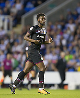 Joshua Onomah of Aston Villa during the Sky Bet Championship match between Reading and Aston Villa at the Madejski Stadium, Reading, England on 15 August 2017. Photo by Andy Rowland / PRiME Media Images.