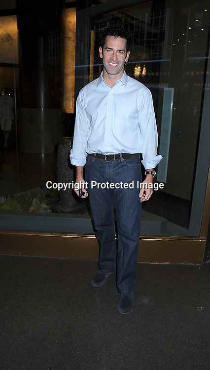 Matt Walton arriving at the One Life to Live Fan Club Luncheon on October 9, 2010 at The New York Helmsley Hotel in New York City.