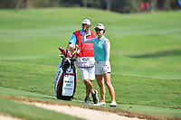 PATTAYA, THAILAND - FEBRUARY 22: Minjee Lee of Australia preparing for her 4th shot on the 18th fairway during the second round of the Honda LPGA Thailand 2019 at Siam Country Club Pattaya (Old Course), Pattaya, Thailand on February 22, 2019.<br /> .<br /> .<br /> .<br /> (Photo by: Naratip Golf Srisupab/SEALs Sports Images)<br /> .<br /> Any image use must include a mandatory credit line adjacent to the content which should read: Naratip Golf Srisupab/SEALs Sports Images