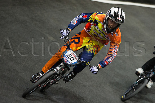 09.04.2016. National Cycling Centre, Manchester, England. UCI BMX Supercross World Cup Day 1.
