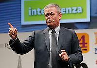 Repubblica delle idee Napoli<br /> nella foto La Macchina della Conoscenza<br /> nella foto Ezio Mauro<br /> foto Ciro De Luca
