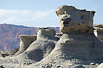 Argentina: the Ischigualasto Valley,  (Valle de la Luna)