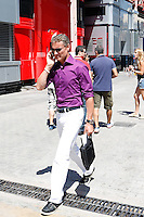 24.06.2012. Valencia, Spain. FIA Formula One World Championship 2012 Grand Prix of Europe Race.  The picture show David Coulhard