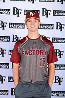 James Starnes (12) of Oak Ridge High School in Spring, Texas during the Baseball Factory All-America Pre-Season Tournament, powered by Under Armour, on January 12, 2018 at Sloan Park Complex in Mesa, Arizona.  (Mike Janes/Four Seam Images)