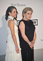 Marion Cotillard &amp; Catherine Deneuve  at the 21st annual amfAR Cinema Against AIDS Gala at the Hotel du Cap d'Antibes.<br /> May 22, 2014  Antibes, France<br /> Picture: Paul Smith / Featureflash