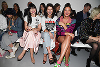 Daisy Lowe and Pixie Geldof<br /> at the Ashley Williams AW17 show as part of London Fashion Week AW17 at 180 Strand, London.<br /> <br /> <br /> &copy;Ash Knotek  D3230  17/02/2017