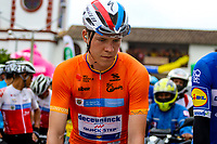 LA UNION - COLOMBIA, 16-02-2019:  Bob JUNGELS (LUX), Deceuninck - Quick Step Floors (BEL), durante la quinta etapa del Tour Colombia 2.1 2019 con un recorrido de 176.8 Km, que se corrió con salida y llegada en La Union, Antioquia. /  Bob JUNGELS (LUX), Deceuninck - Quick Step Floors (BEL), during the fifth stage of 176.8 km of Tour Colombia 2.1 2019 that ran with start and arrival in La Union, Antioquia.  Photo: VizzorImage / Anderson Bonilla / Cont