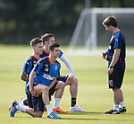 Gary Sherriff with Jason Holt and Barrie McKay